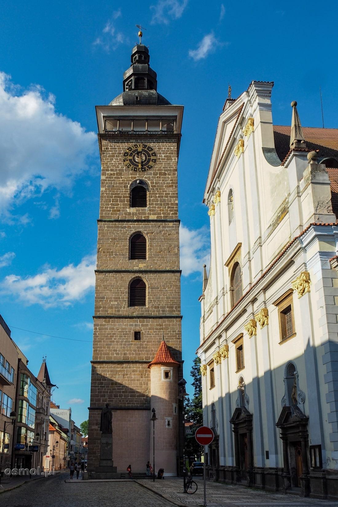 Czarna Wieża w Czeskich Budziejowicach
