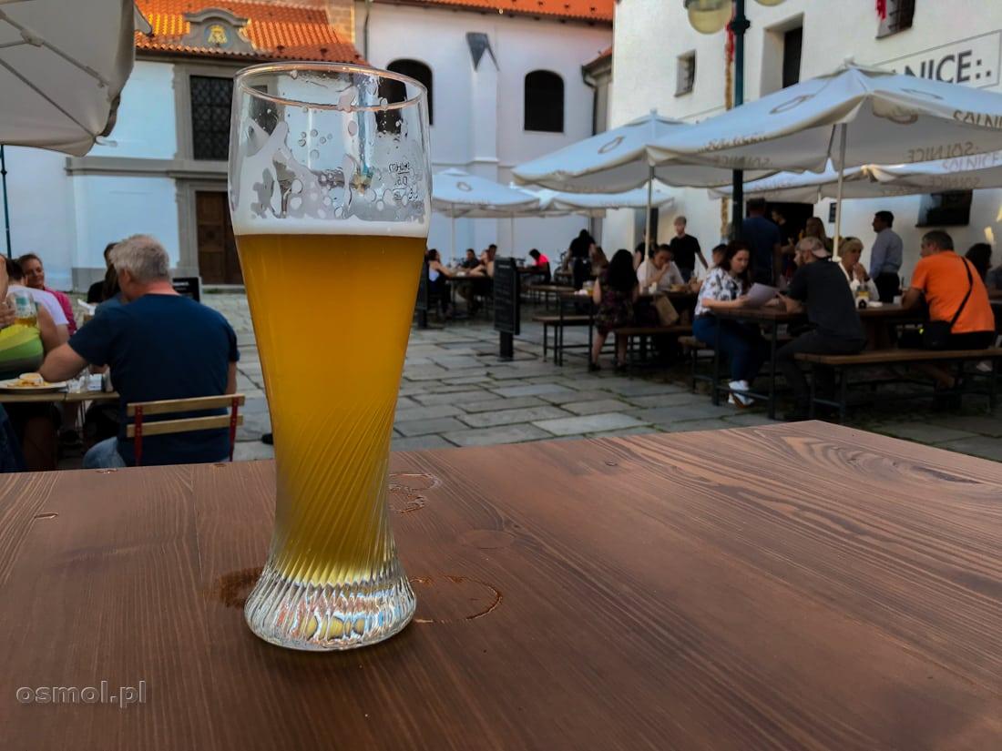 Piwo w restauracji i browarze Solnice