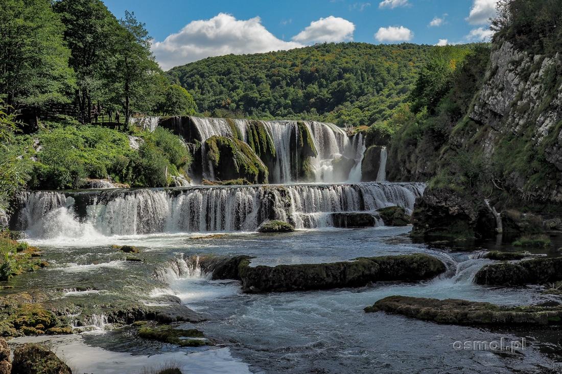 Štrbački buk. Najwyższy wodospad na rzece Una